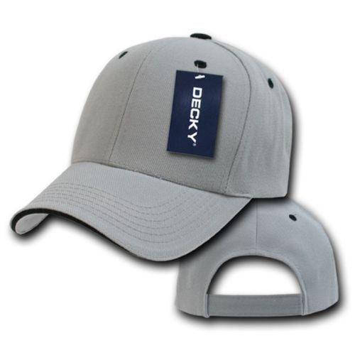 DECKY 6-Panel 16 Colors  Sandwich  Visor  Baseball  Adjustable Cap Caps Hat 2003