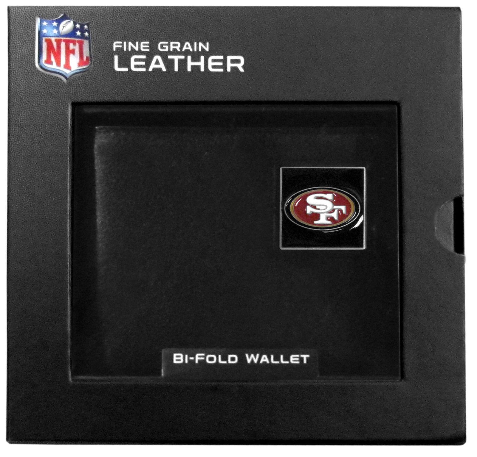 Nfl Bifold Wallet In A Window Box - San Francisco 49Ers
