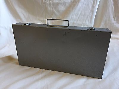 Vtg 35mm Film Organizing Metal Case or Business Card Holder