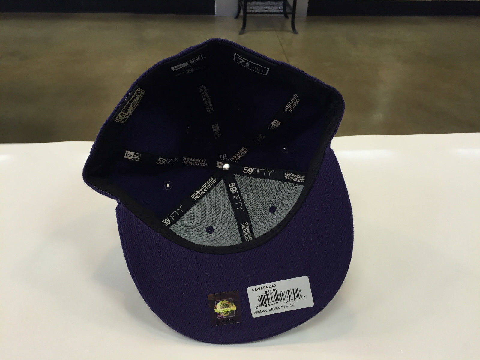 New Era 59Fifty Los Angeles Lakers Hardwood Classics Purple Fitted Cap