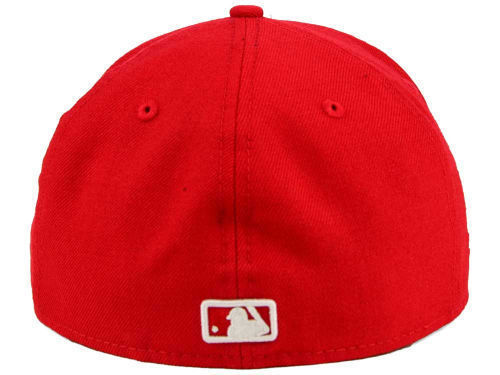 New Era 59Fifty MLB Los Angeles Dodgers Red Fitted Cap