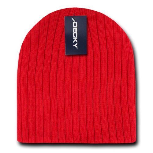 Decky Beanies Cable Knit Cap Hat Ski Warm Winter Snowboard 601