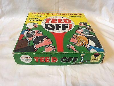 Vtg Tee'd Off Kotaco Board Game