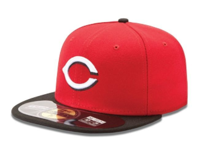 New Era 59Fifty MLB Authentic On Field Road Cap Baseball Cap/Reds/Indians