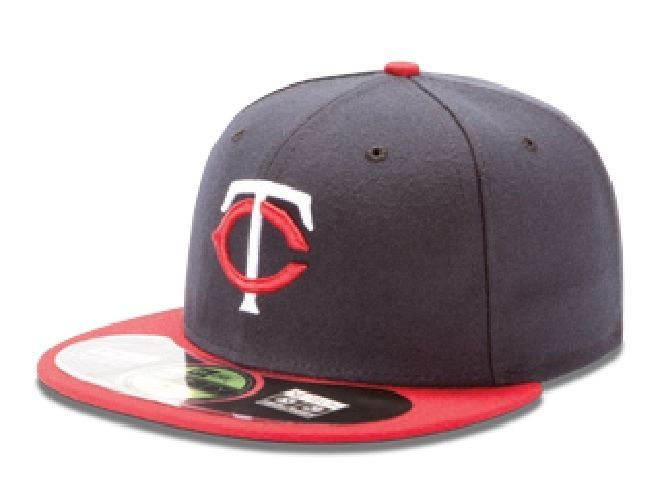 New Era 59Fifty MLB Authentic On Field Road Cap Baseball Cap/Reds/Indians/Twins