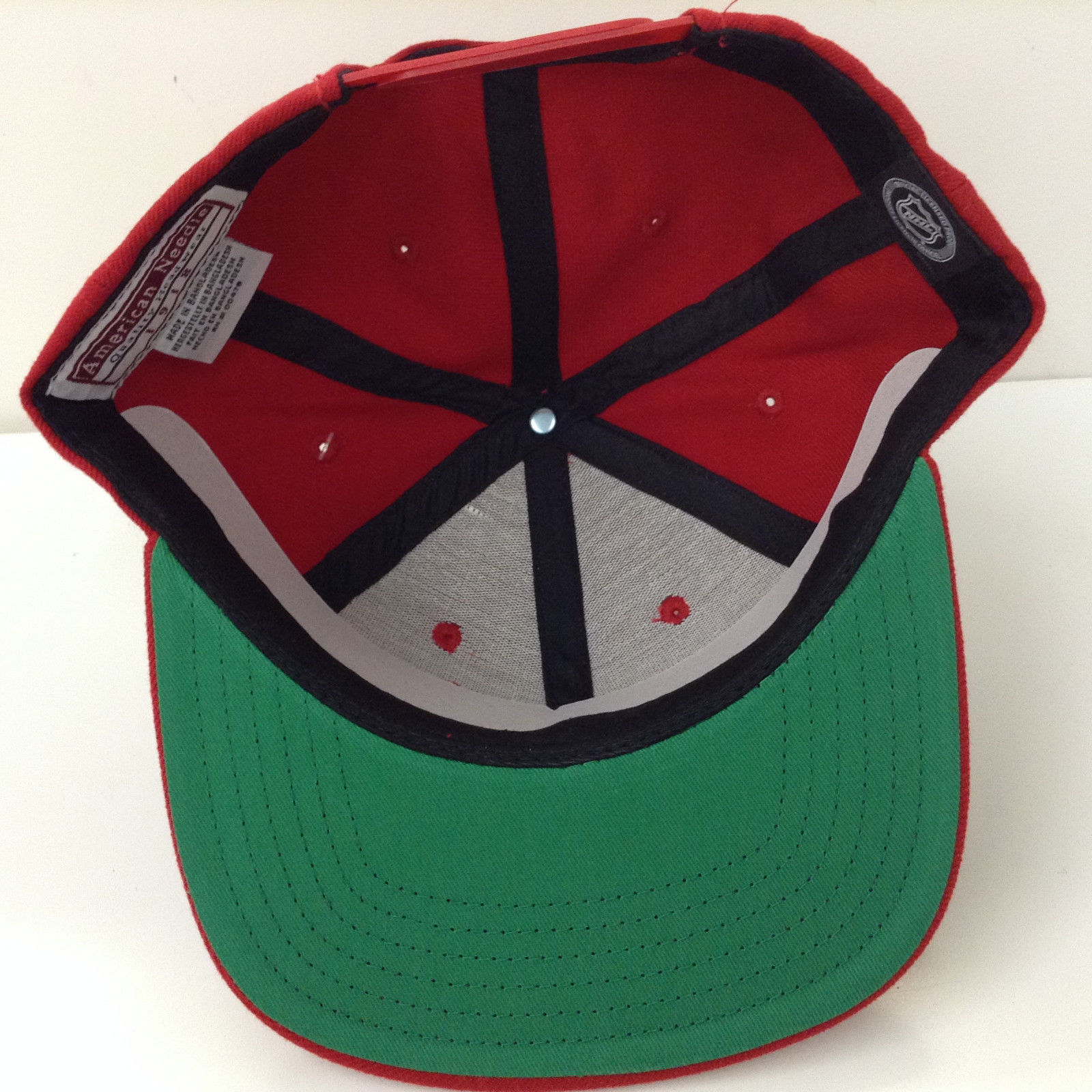 American Needle NHL 400 Red Wings Replica Snapback Adjustable Cap Hat 12858