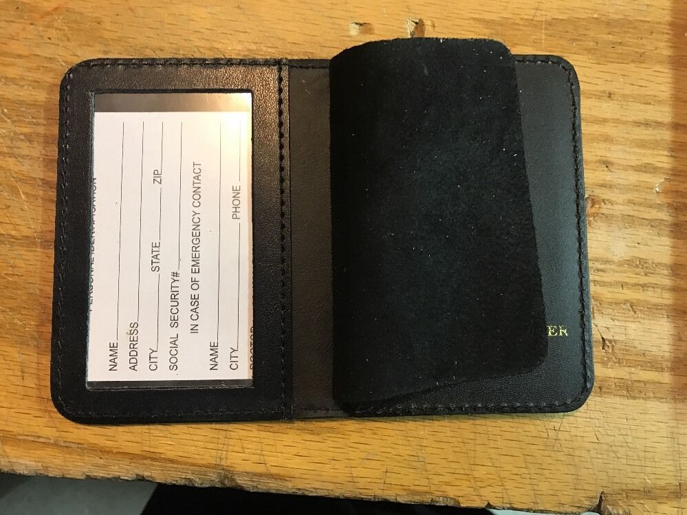 NYPD Sergeants  Brother Wallet 2017 NYPD PBA