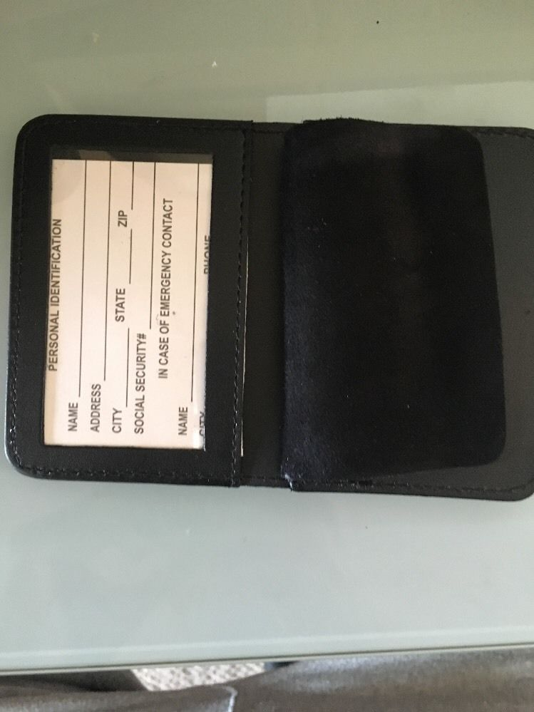 NYPD Captain  Friend Wallet 2016 NYPD PBA