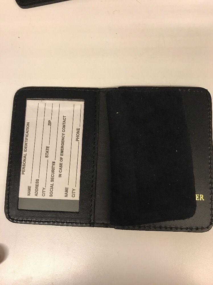 NYPD Detective  Brother Bi Fold Wallet 2016 NYPD PBA