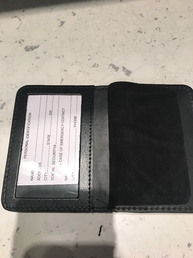 NYPD Assistant Chief Family Member Bi Fold Wallet 2016 NYPD PBA