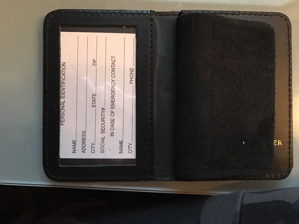 NYPD Sergeants  Brother Wallet 2016 NYPD PBA