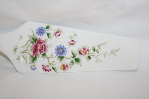 Andrea by Sadek Japan Spring Night Floral Pie or Cake Server  #1932