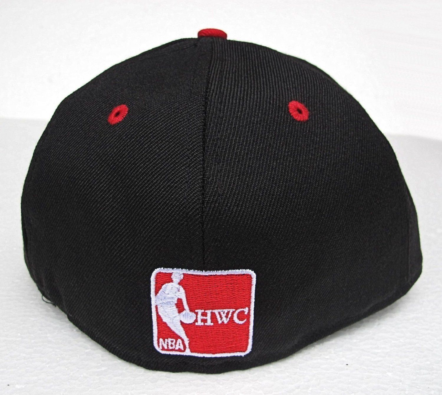New Era 59Fifty Los Angeles Lakers 2 Tone HWC Basic Black/Scarlet Fitted Cap