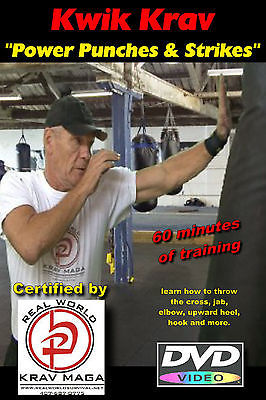"""SIMPLE KRAV MAGA 10 DVD Set"", everything needed for Easy to Learn Self Defense."