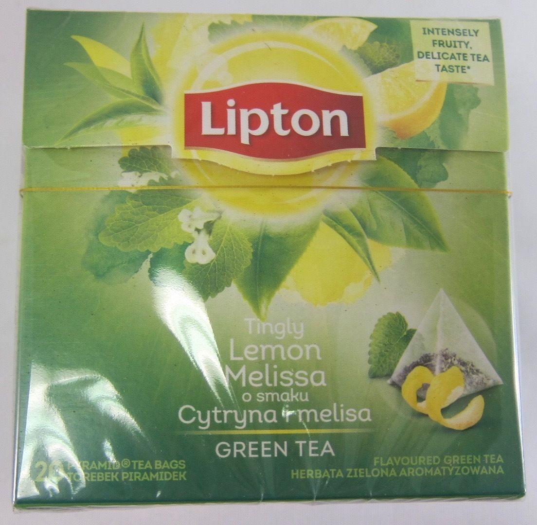 Lipton Green Tea: Tingly Lemon Melissa  -1 box/ 20 tea bags