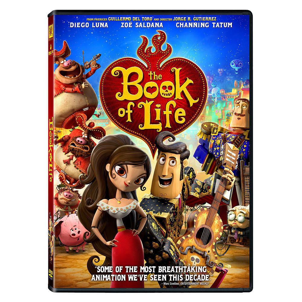 The Book of Life (DVD, 2015) Children & Family Movie