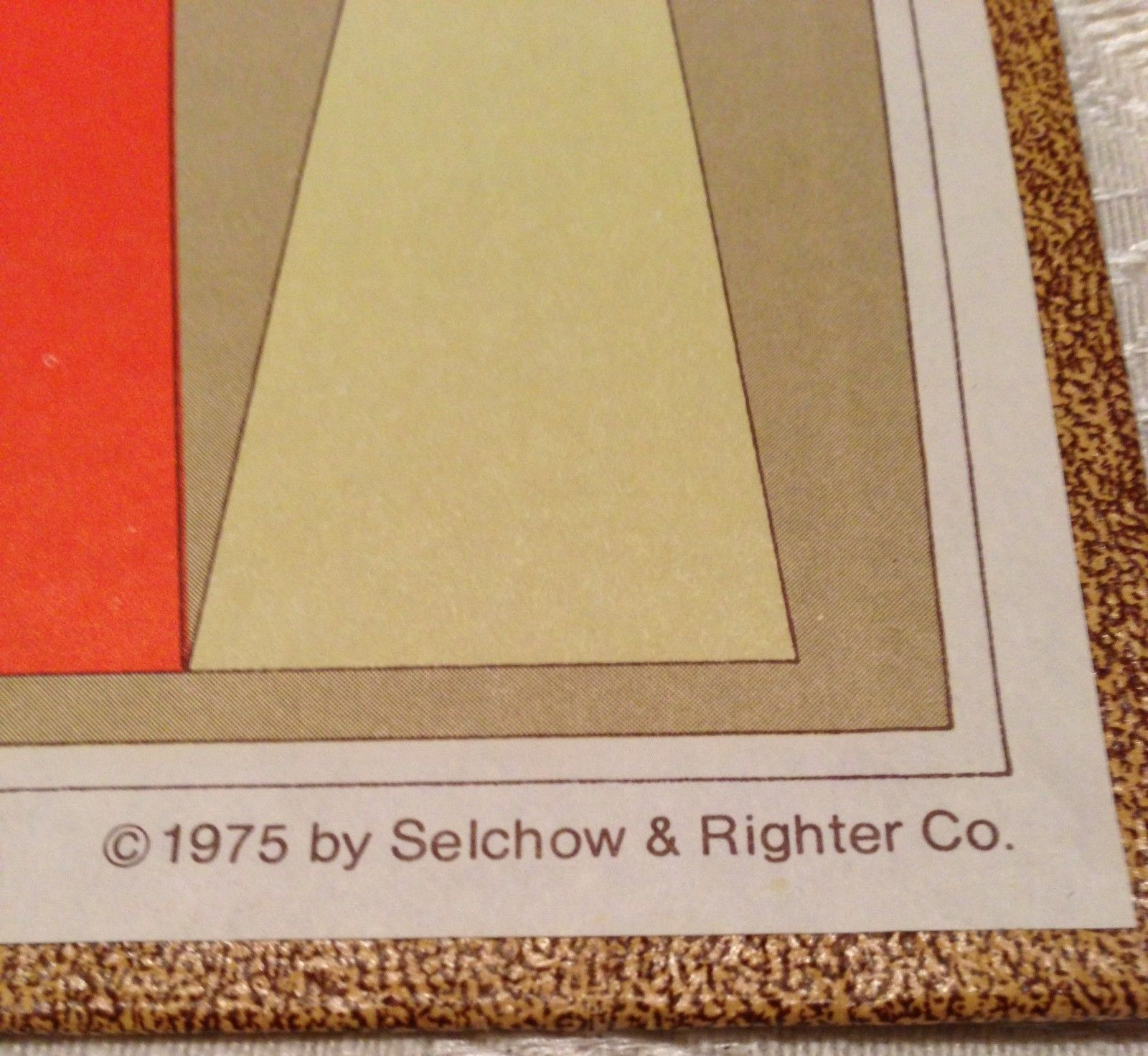 Backgammon Selchow Righter 1975 S&R Vtg  Games Boardgame Wood CHIPS DICE