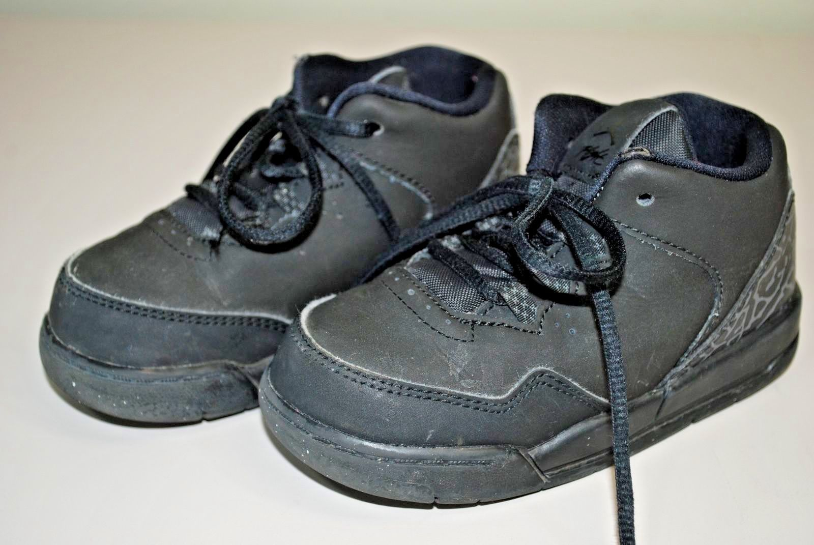 Nike Air Jordan Flight Origin 2 Sneakers TODDLER BOYS SIZE 7C SHOES - Black/Gray