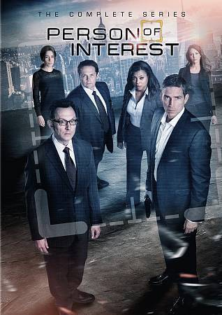 Person of Interest: The Complete TV Series (DVD Set) Seasons 1-5