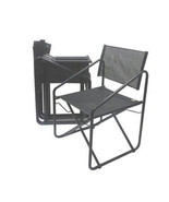 Mid Century Folding Director Patio Chairs by Brown Jordan-Set of Four - $750.00