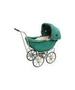 Vintage Lloyd Loom Wicker Baby Doll Buggy - $345.00