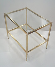 Maison Jansen Brass End Table - $365.00