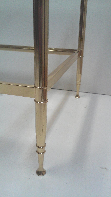 Maison Jansen Brass End Table