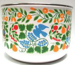Vintage Mid-Century Enamel Bowl - $89.00