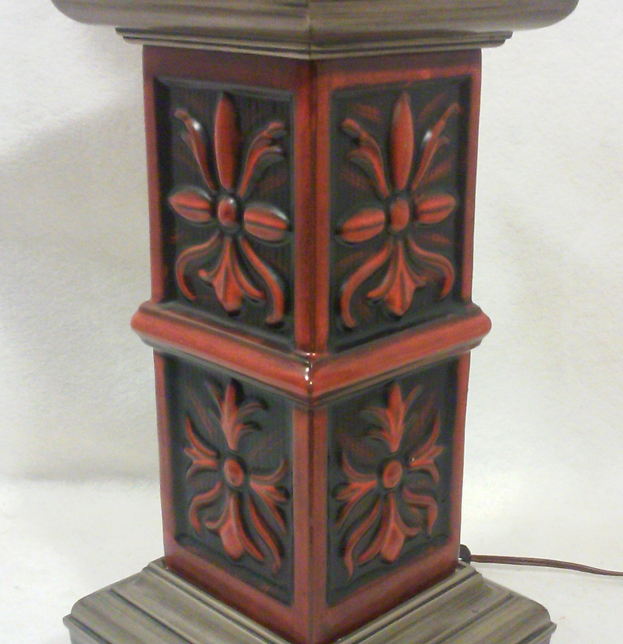 Mid-Century Chinese Modern or Mediterranean Table Lamp by Stiffel