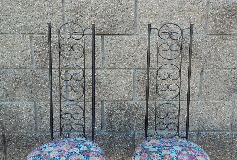 Arthur Umanoff Grenada Iron Chairs-A Pair