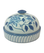 Maitland Smith Blue and White Chinoiserie Covered Dish - $345.00