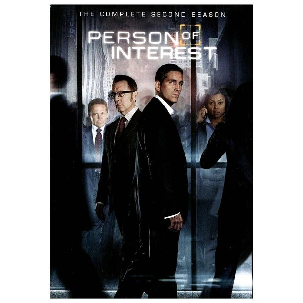 Person of Interest: The Complete Second Series 2 (DVD, 6-Disc Set) TV Season