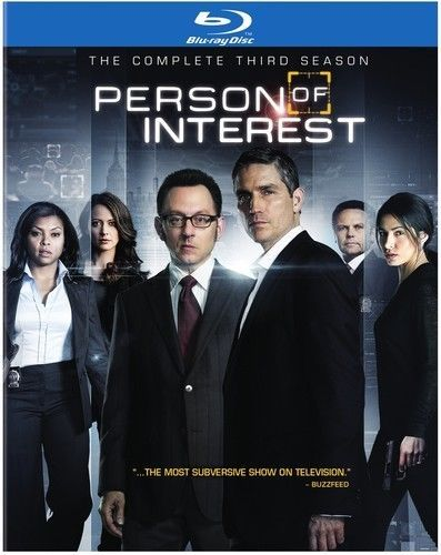 Person Of Interest: The Complete Third Season 3 (Blu-ray Disc Set TV Series)