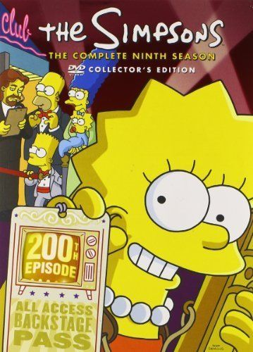 The Simpsons - Complete Ninth Season 9 (DVD, 2009, 4-Disc Set) Fox TV Series