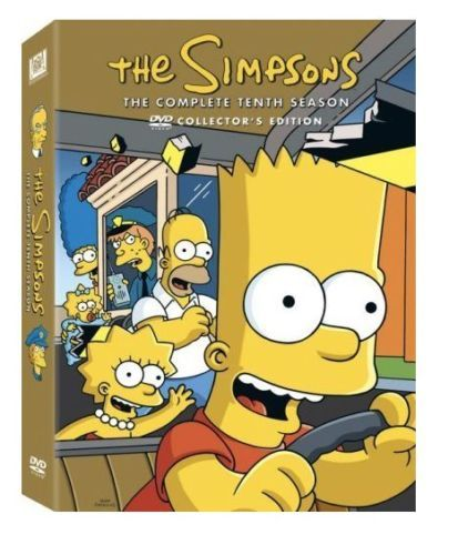 The Simpsons The Complete Tenth Season 10 (DVD Set) New TV Series