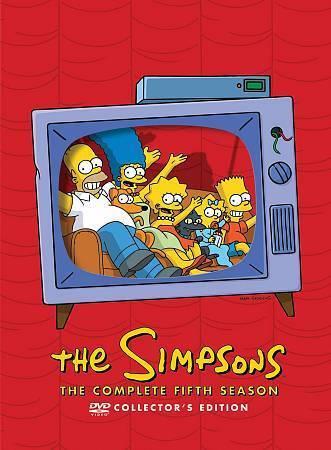 Simpsons: The Complete Fifth Season 5 (DVD Set) Fox TV Comedy Series