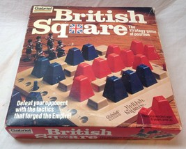 BRITISH SQUARE Gabriel THE STRATEGY GAME OF POSITION 1978 - $19.80