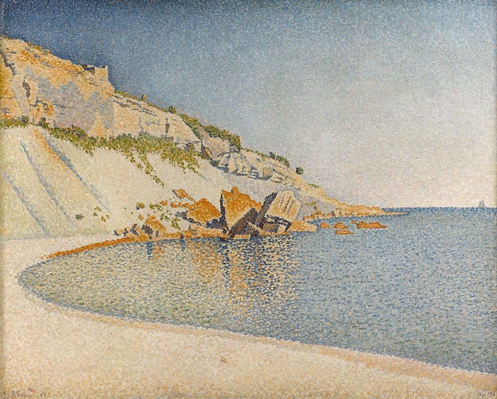100% Hand Painted Oil on Canvas - Signac - Cap Lombard - 20x24 Inch