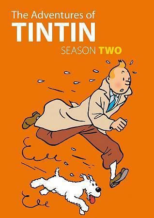 The Adventures Of Tintin: Comlete Second Season 2 (DVD Set) Classic TV Cartoon
