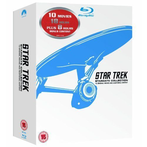 Star Trek: Stardate Collection - The Movies 1-10 (Blu-ray Disc Box Set)