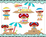 Beach dolls clip art thumb155 crop