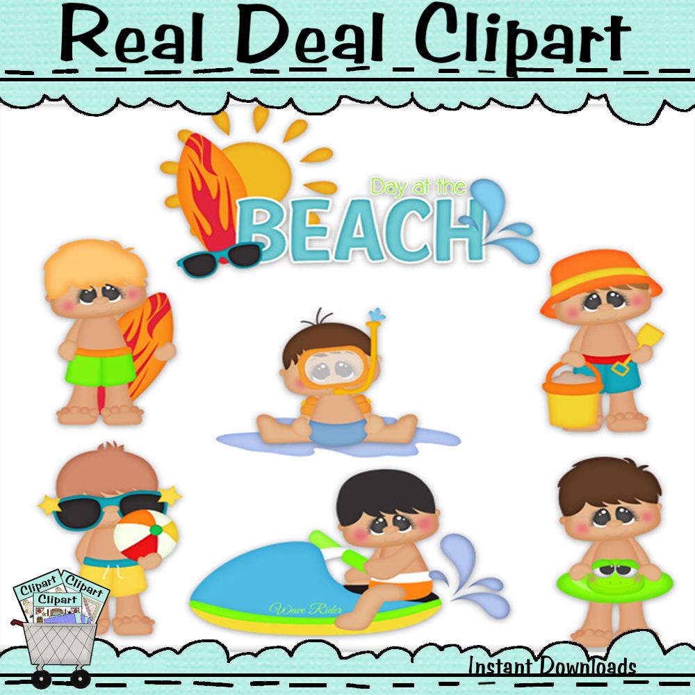 Beach time boys