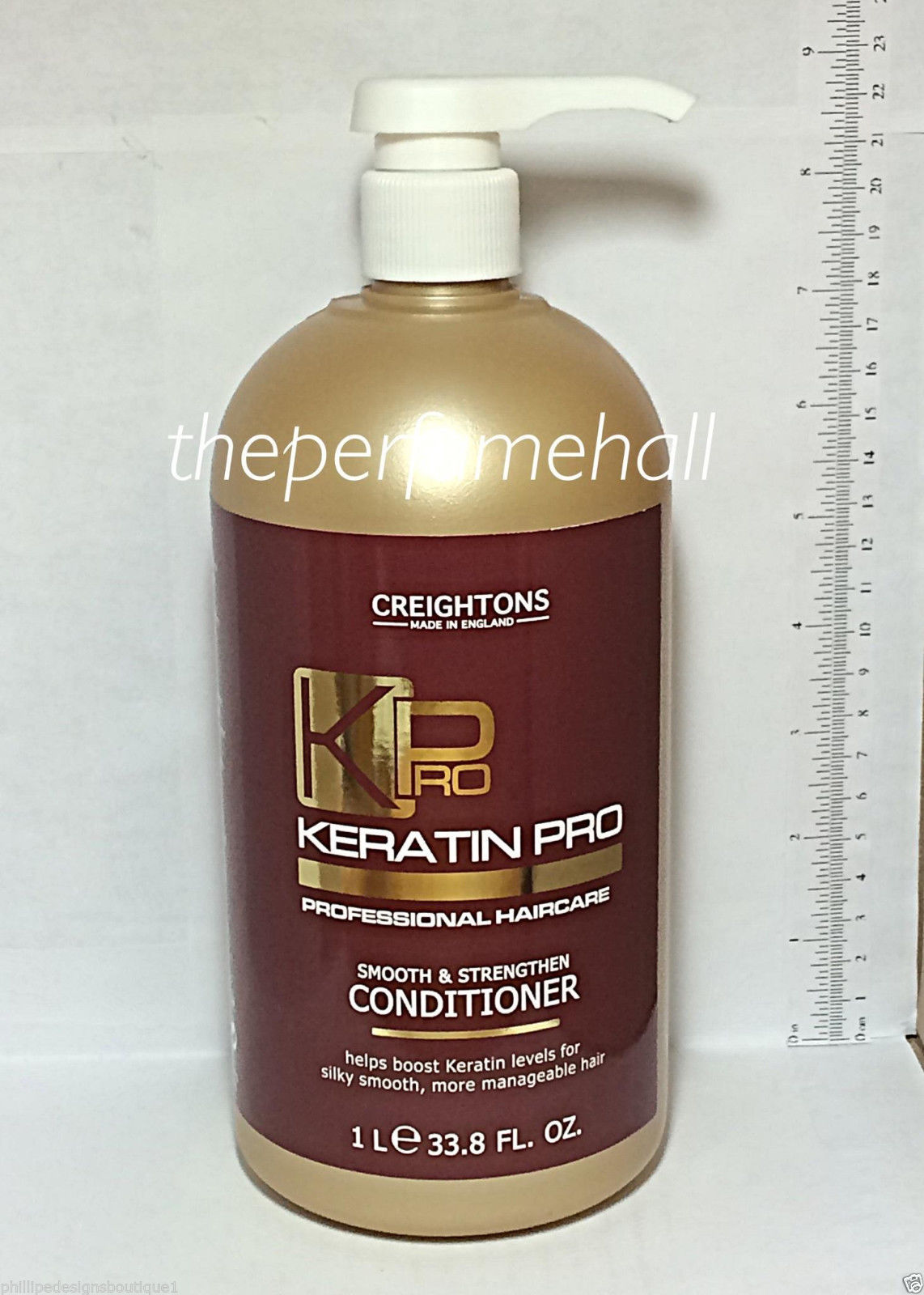 Creightons Keratin Pro Conditioner Boost Keratin Levels All Hair Types 33.8oz