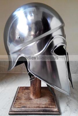 greek corinthian helmet Armour europe reenactment larp spartan helmets