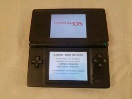 Nintendo DS Lite Launch Edition Crimson/Black Handheld System USG-001 AS... - $21.49