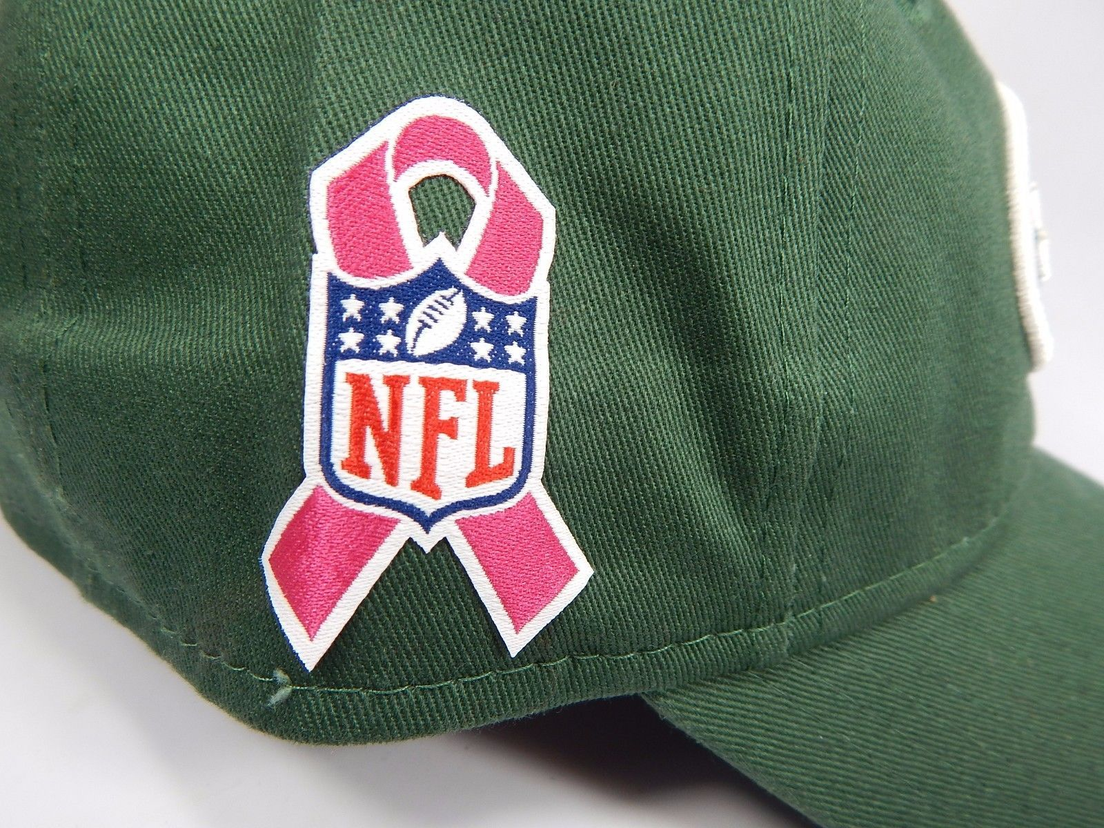 New York Jets New Era Women's 9Forty 940 Adjustable Breast Cancer Aware Cap Hat