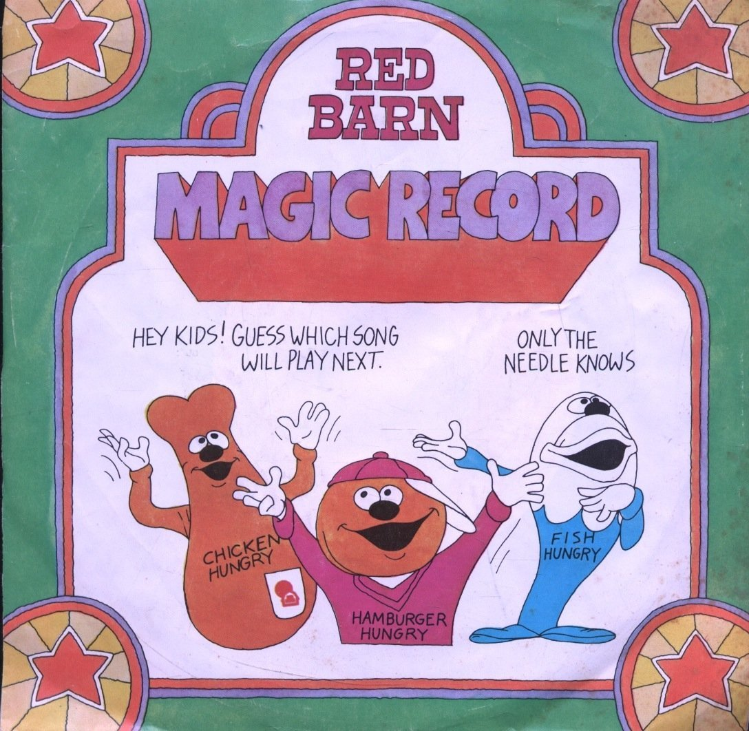 Red Barn : Magic Record : Only the Needle Knows What Song I Will Play Next [V...