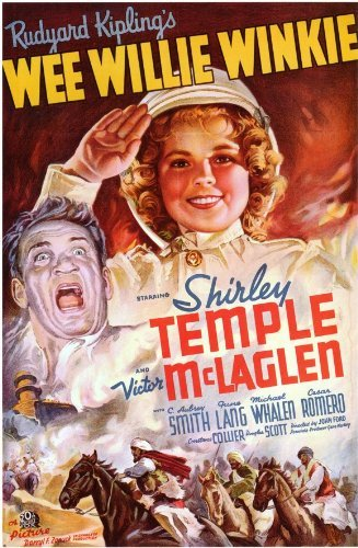 Wee Willie Winkie Poster Movie B 11x17 Shirley Temple Victor McLaglen Sir C. ...