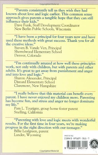 Parenting With Love and Logic : Teaching Children Responsibility Cline, Foster W
