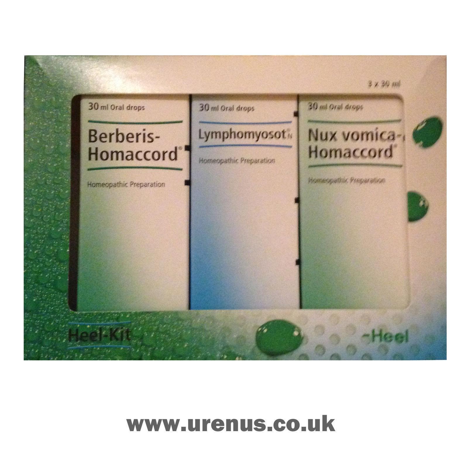 Talon Homéopathique Produits/Détox Kit